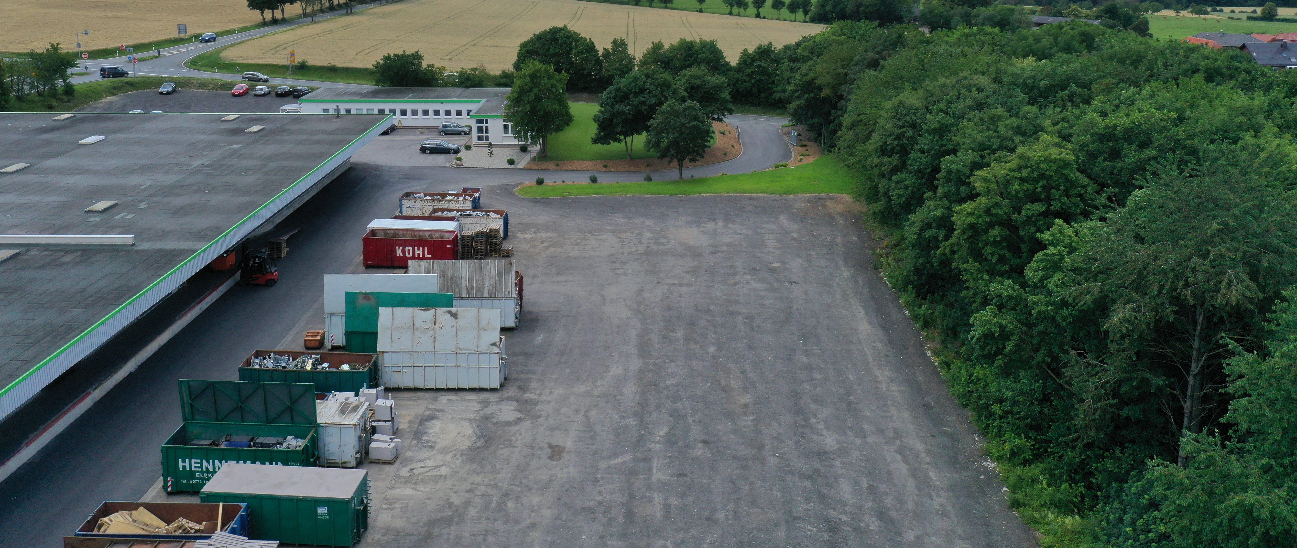 Gesicherte Freiflächen für Wohnmobile, Boote, Anhänger, LKW, Transporter